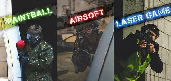 Prievidza, สโลวะเกีย: Paintball / Airsoft / Laser game