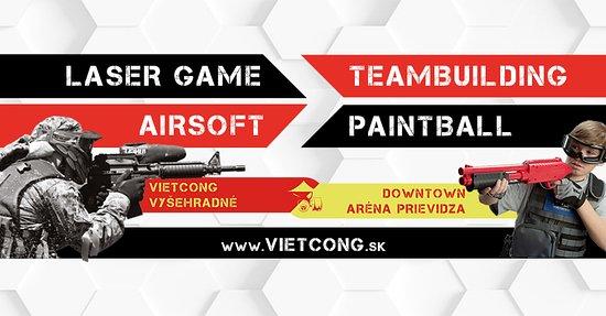 Prievidza, สโลวะเกีย: Ponúkame vám Laser Game / Airsoft / Paintball / Teambuilding
