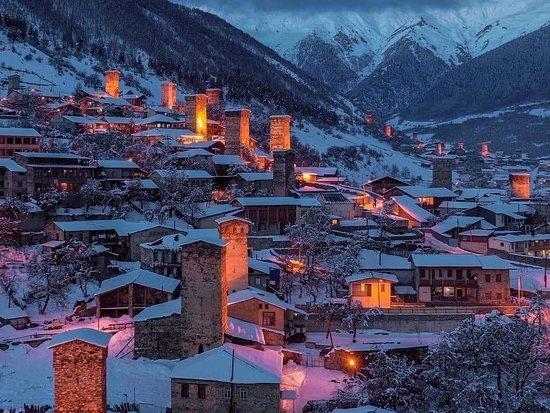 Mestia, Upper Svaneti, Georgia ❄️