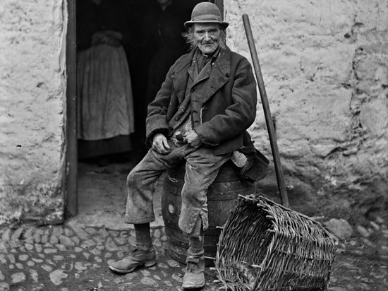 Irish Famine Exhibition: A kerry Peasant in 19th Century Ireland
