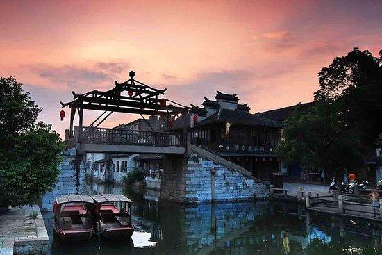 ベジタリアンランチと新天地付き上海から同里町へのプライベートツアー