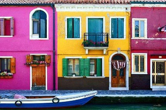 Tur fra Punta Sabbioni - besøk øyer Murano og Burano og Venezia på 1...