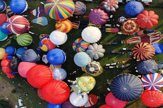 Bristol Balloon Fiesta Champagne Flight from Bristol Resmi