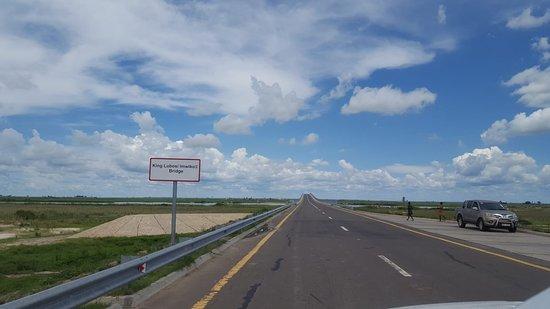 Mongu, زامبيا: Mongu Kalabo Road - Barotseland