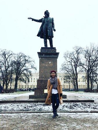 Petrohrad, Rusko: A beautiful day and perfect day. Dream come true. #Snowshower #Birthdaywish