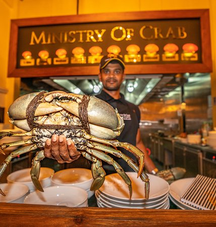 Fresh Sri Lankan Lagoon Crab is flown three times a week from Sri Lanka. Sizes from 500g to the Mammoth 2kg!