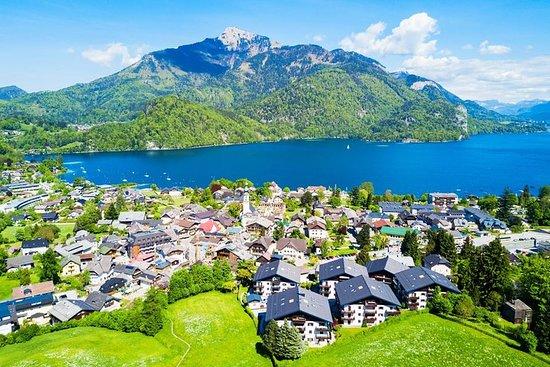 Visite privée du district des lacs de Salzbourg et de Hallstatt au...