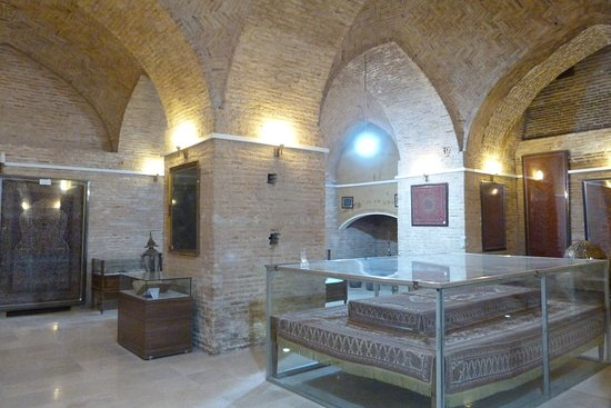 Mahan, Iran: Il museo all'interno del complesso