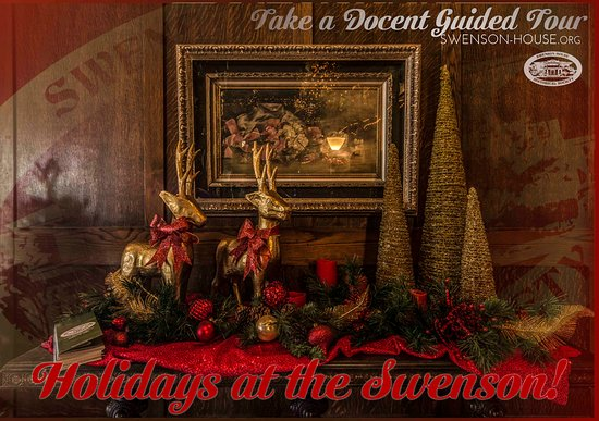 The Swenson House is absolutely amazing for the holidays, it is a must see in Abilene, TX!  The house has Christmas trees in just about every room of the house & the entire house has amazing antique decorations & new decorations!  It is also open for Christmas parties as well.