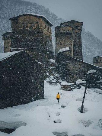 Ushguli, Upper Svaneti, Georgia ❤️❄️