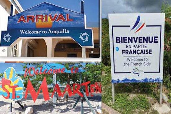 3 land. 2 øyer. 1 dag. (St. Maarten, St. Martin, Anguilla)