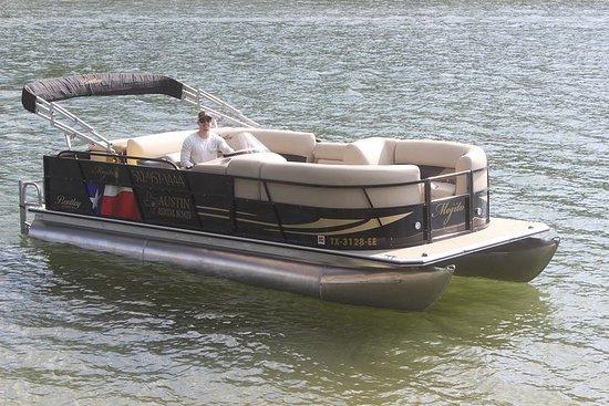 奧斯汀湖黨船-12乘客浮橋船照片