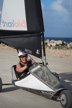 The most fun we had on land in Bonaire!