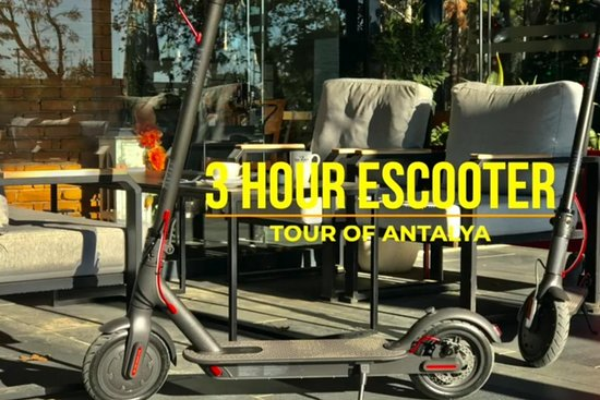 E-Scooter Antalya-Daily Tours