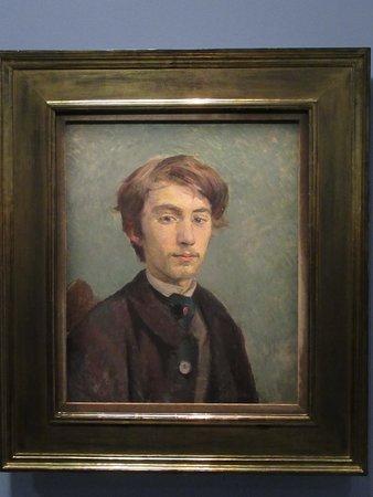 """""""Emile BERNARD"""" (1885) : huile sur toile"""