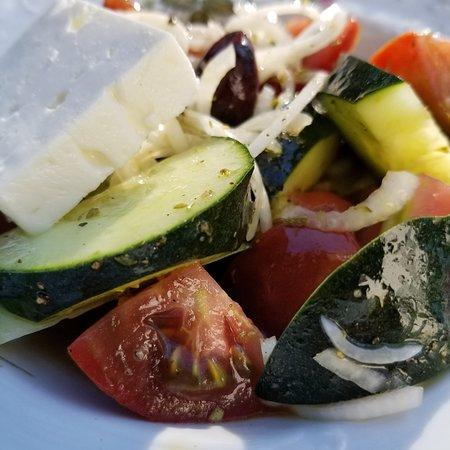 Horiatiki- Greek village salad