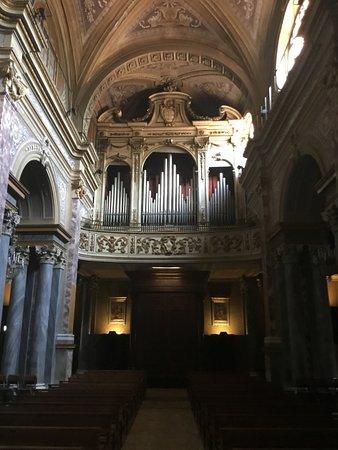 Organ made by master from Bergamo Felice Bossi in 1857.