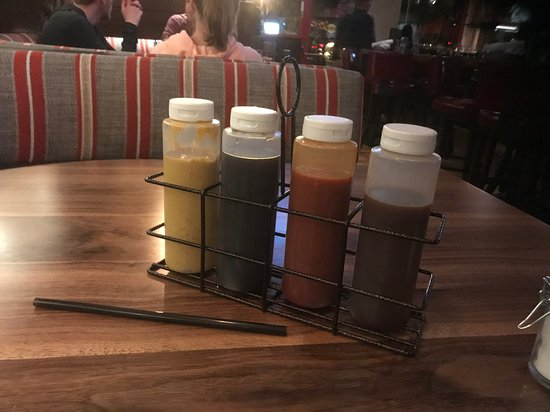 4 Table Sauces