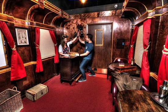 Escapology: Budapest Express Escape Room in Orlando – fotografija