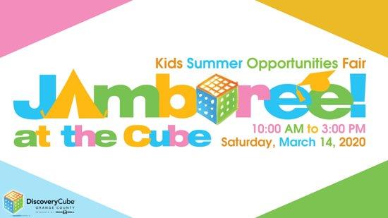 מחוז אורנג', קליפורניה: Join Parenting OC's annual Jamboree event at the Discovery Cube in Santa Ana, California. This event showcases tons of fun summer activities for children along with many more! This is a free event and all ages are welcome!  https://www.eventbrite.com/d/ca--anaheim/jamboree/