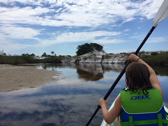 We love to Kayak the Dune Lakes on 30a. You've got to try it out.  We know exactly where to go that all the locals love.