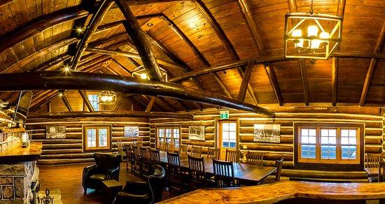 Haliburton, Kanada: Bark Lodge - Interior