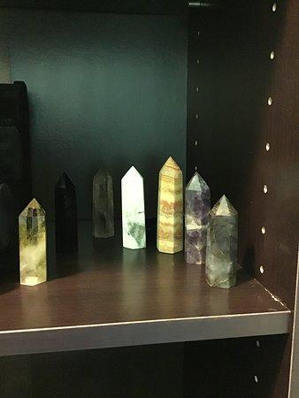 Phelan, CA: Crystal points