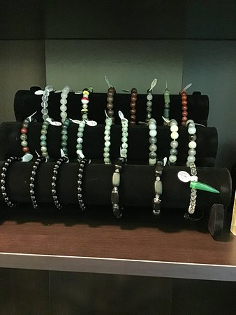 Phelan, CA: Crystal bracelets for comfort during our hectic day. These bring in many different things all good