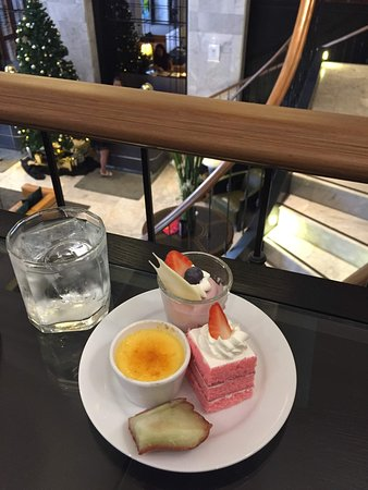 Complimentary daily 'high tea' with snacks and drinks