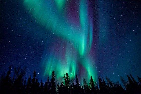 Observation des aurores boréales à...