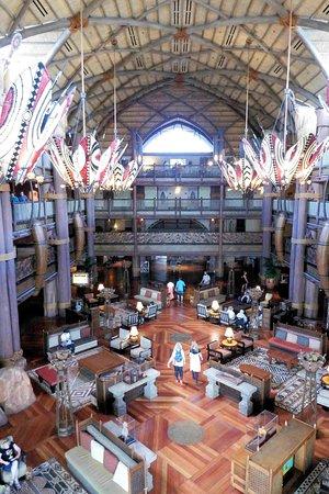 Grand lobby, taken from bridge