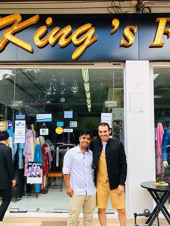 Best Tailor in Ao nang King's Fashion Tailor krabi  www.kings-fashion.com