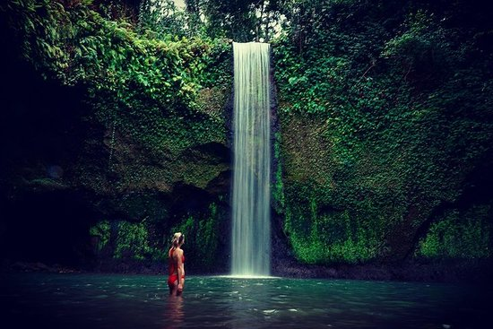 Ubud tours with waterfall