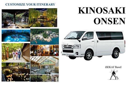 KINOSAKI ONSEN av Minivan Toyota HIACE 2019 Tilpass reiseruten din