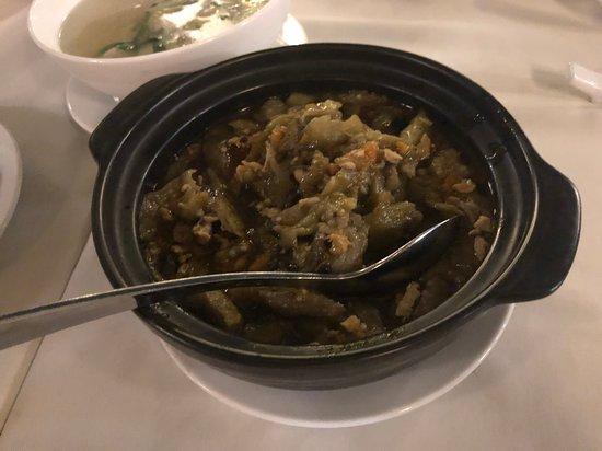 鶏ひき肉と茄子の土鍋煮