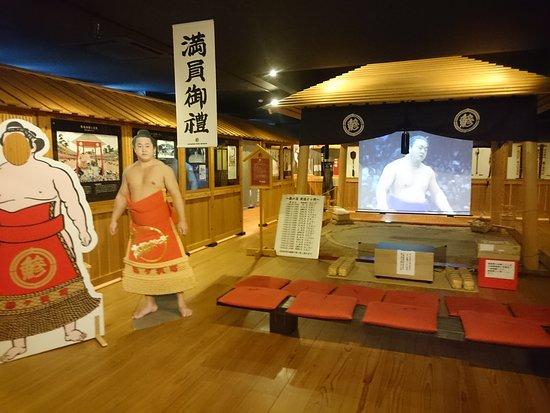 Ajiga Sawa Sumo Museum Mainoumi Furusato Sajiki