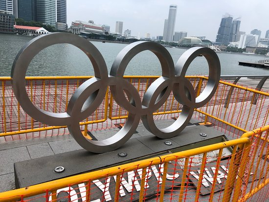 Olympic statue
