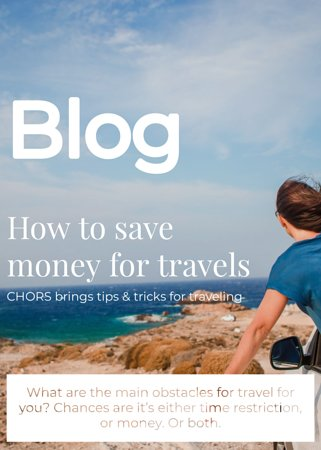 """Do you want to start travel 🛩,but do not have a money🛩? It does not matter, because nowdays it can always be invented.  How to do it? Read our new blog """"How to save money for travelling"""" and fulfill your dreams from today.  https://www.cho.rs/en/bratislava-capital-city/blog/how-to-save-money-for-travels/"""