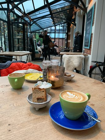 Gezellige coffebar met super coffee