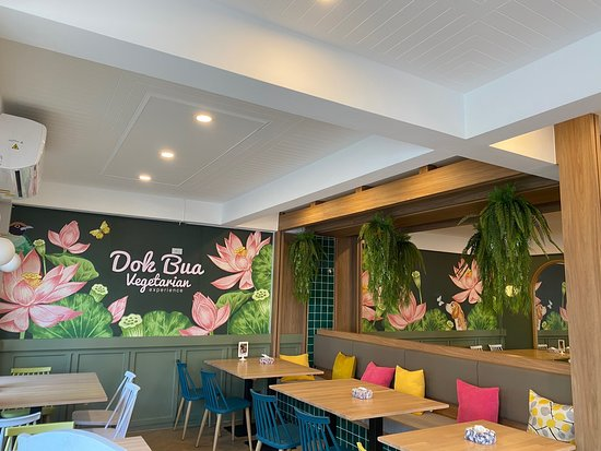 New restaurant ambience after renovation