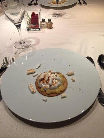 Menilles, Frankrike: dessert
