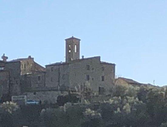 Sant'Angelo in Colle, Taliansko: Vista dall'Abbazia ....