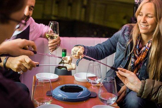 Dégustation de fondue et de vin en...