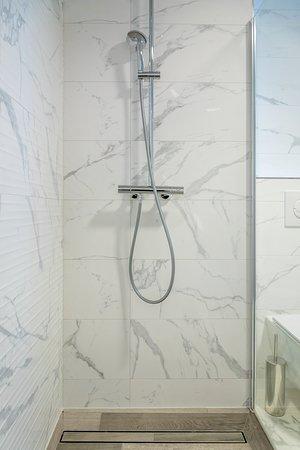 Luxury room with indoor spa bath