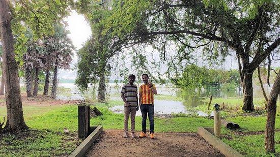 udawalawe National park private safari With Subhash: Subhash and me