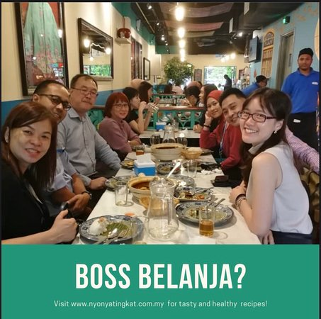 Kuala Lumpur, Malajzia: Our premise will be your great place to dine in with your family, friends and to organize any kind of events or gathering. Good local Nyonya Food serve by BIBIK with old days taste