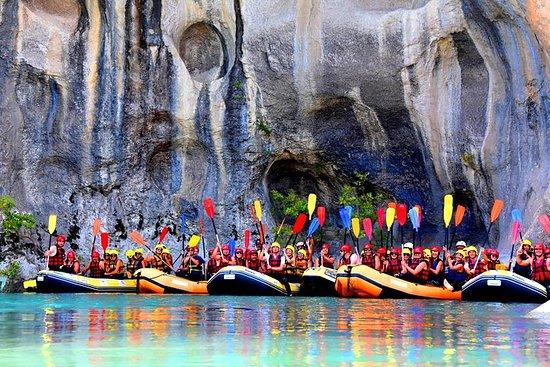 阿爾巴尼亞(ARG)為期3天,皮划艇筏和徒步旅行