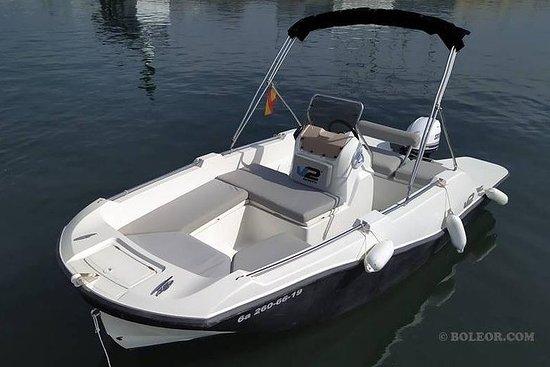 Noleggio barca senza patente - B500