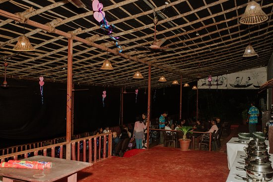 The venue at night. Lot of potential in the place in terms of decorating it. I had a casual engagement and not a formal one.