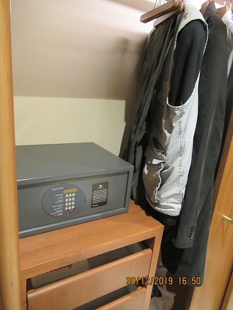 Safe and wardrobe